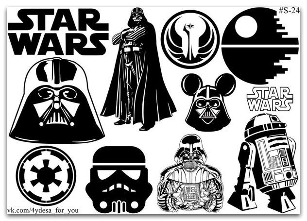 Stickers Pack Star Wars #24