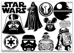 Stickers Pack Star Wars #24