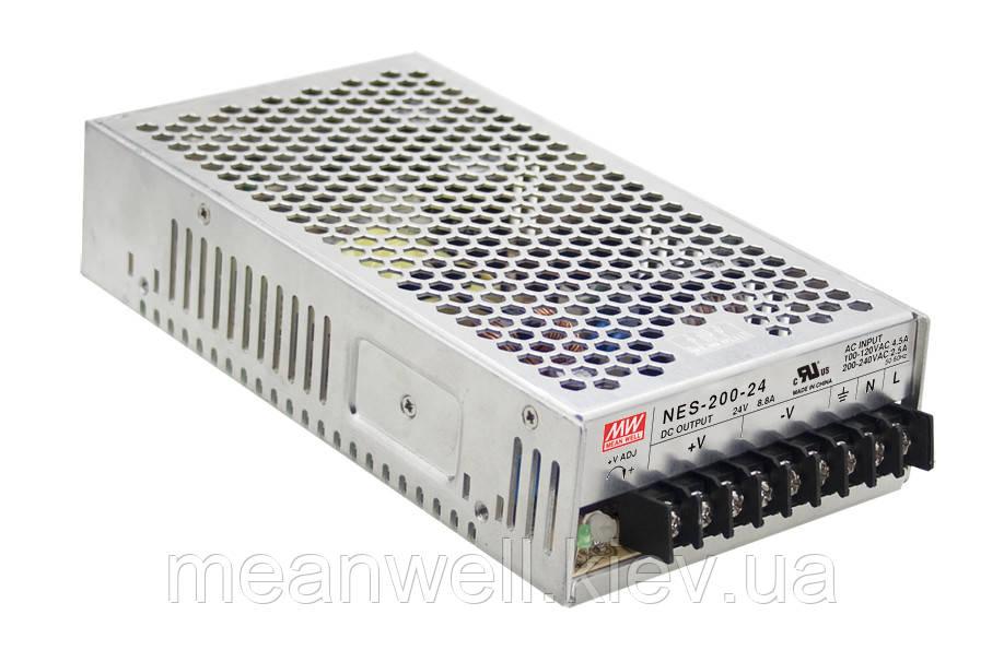 NES-200-7.5 Блок живлення Mean Well 202,5 Вт, 7,5 в, 27А