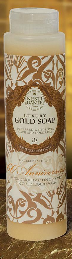 Гель для душа Nesti Dante Gold Золотой премиум  300мл