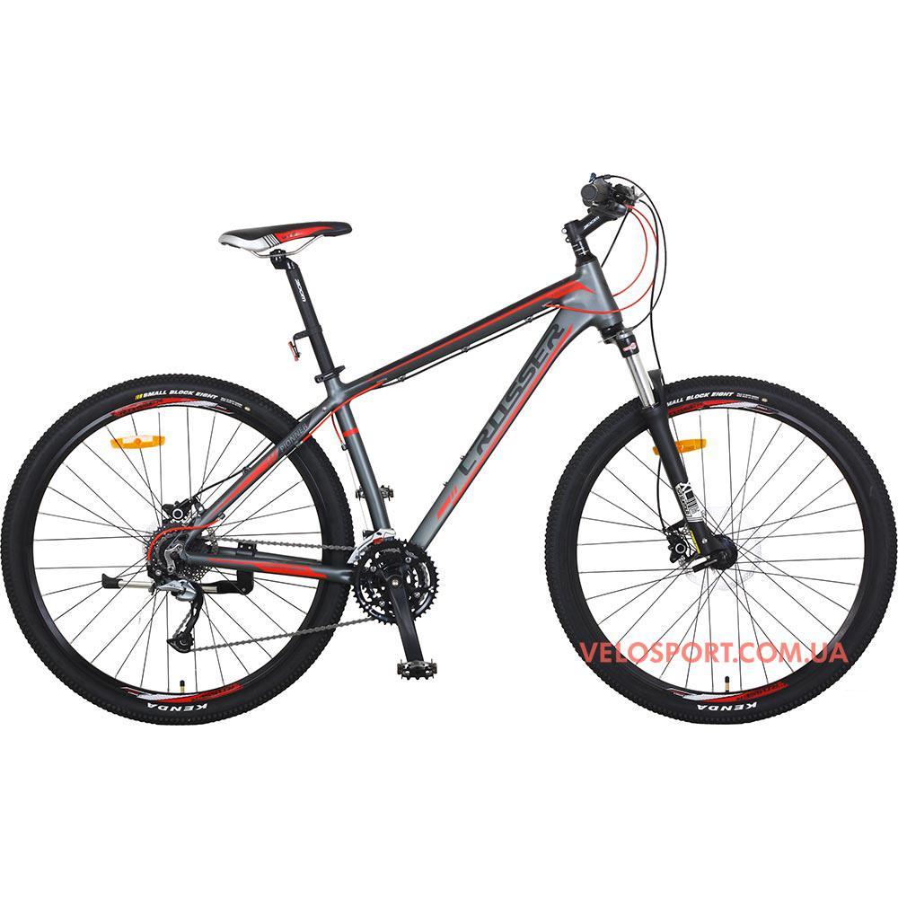 Горный велосипед Crosser Pionner 29 дюймов серый