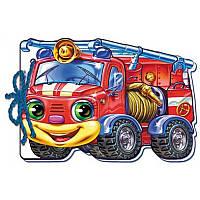 Мягкие машинки. Пожарная машина