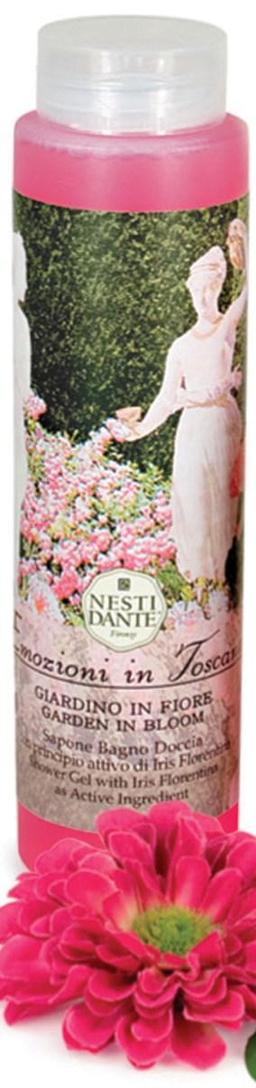 Гель для душа Nesti Dante Цветущий сад Emozioni in Toscana 300мл