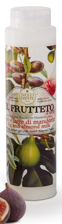 Гель для душа Nesti Dante Fig and Almond Milk Il Frutteto Инжир и Миндальное молочко 300мл