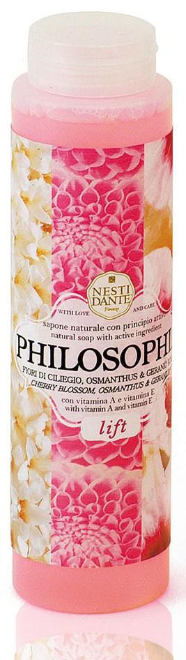 Італійський гель для душу Nesti Dante Philosophia Lift Ліфтинг 300 мл