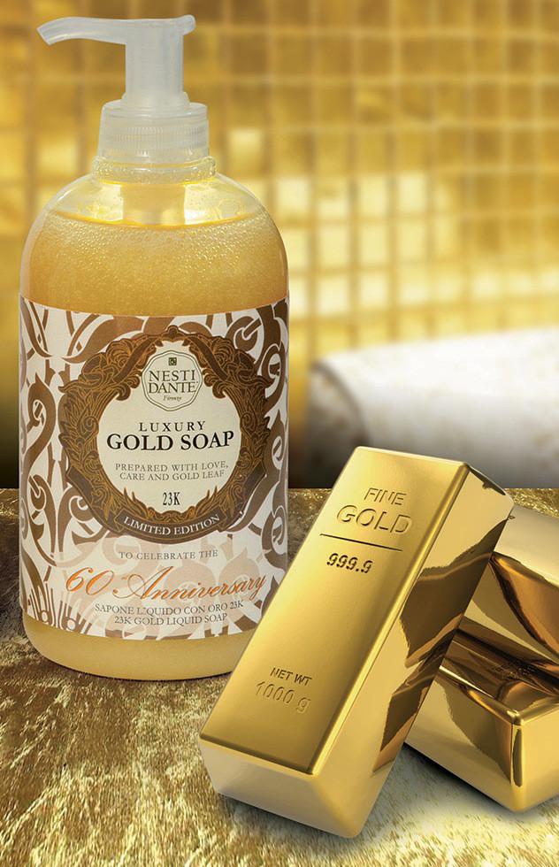 Жидкое мыло Nesti Dante Gold Золотое 500мл