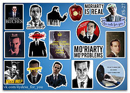 Stickers Pack Moriarty, Мориарти #27