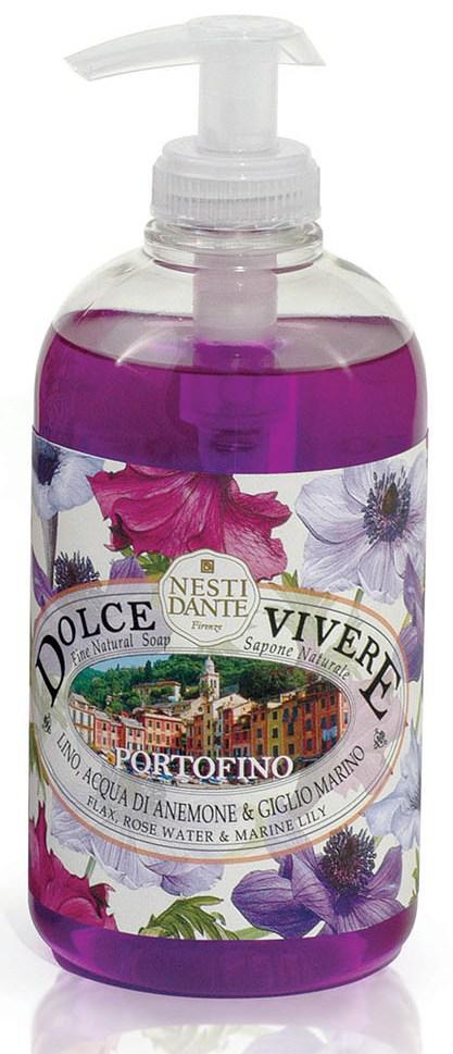 Итальянское жидкое мыло Nesti Dante Portofino Dolce Vivere Портофино 500 мл