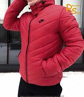 Зимняя мужская куртка Nike Angle red