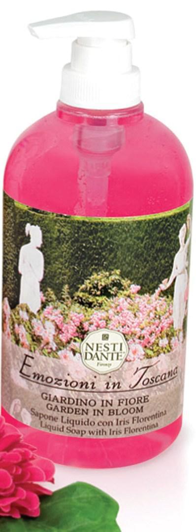 Жидкое мыло Nesti Dante Цветущий сад Emozioni in Toscana 500мл