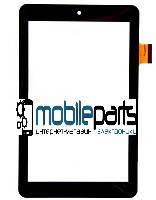 Сенсор (Тачскрин) для китайского планшета 7'' 0493-V03 (182x112 мм,36 pin) (Черный-Самоклейка)