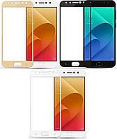 Защитное стекло для Asus Zenfone 3 Zoom ZE553KL цветное Full Screen