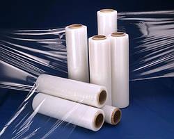 Купити прозору, чорну плівку стрейч для ручного пакування в Харкові у виробника за мінімальною ціною
