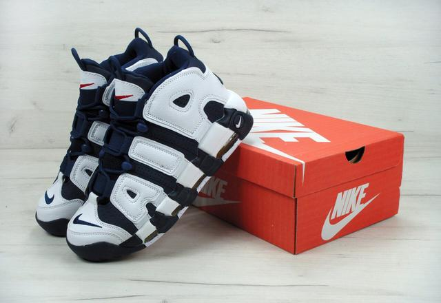 Nike Air More Uptempo Olympic Navy Blue
