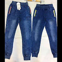 Подростковые котоновые брюки для мальчиков оптом F&D