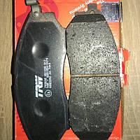 Колодки тормозные передние X-trail TRW GDB3392
