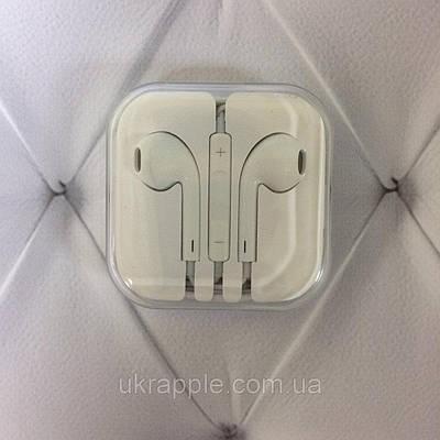 Гарнитура Hi Fi iPhone белый (plastic box A quality)