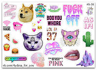 Stickers Pack #38