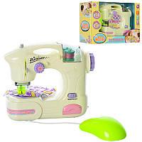 Дитяча іграшка Швейна машинка 6941A шиє, педаль управління, світло, бат., кор., 25,5-18,5-9 см.