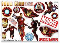 Stickers Pack Marvel Iron Man, Железный Человек #42