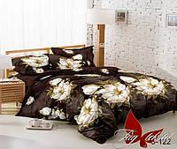 Комплект постельного белья.Двуспальный комплект постельного белья сатин. Постельное белье из сатина. Постель.