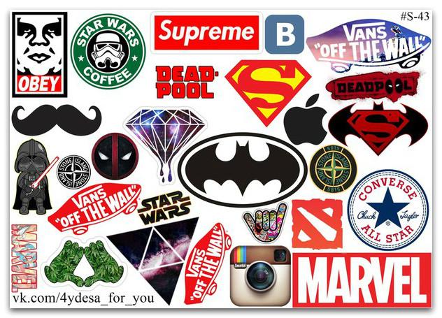 Стикерпак Логотипы #43