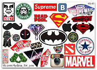Stickers Pack Логотипы #43