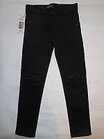 Подростковые черные джинсы Sercino для девочек от 8 до 12 лет