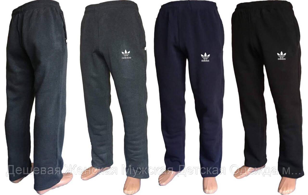 Мужские теплые штаны на флисе полуботал
