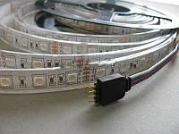 Лента LED светодиодная RGB влагозащищенная IP54 SMD5050 14.4Вт 12V