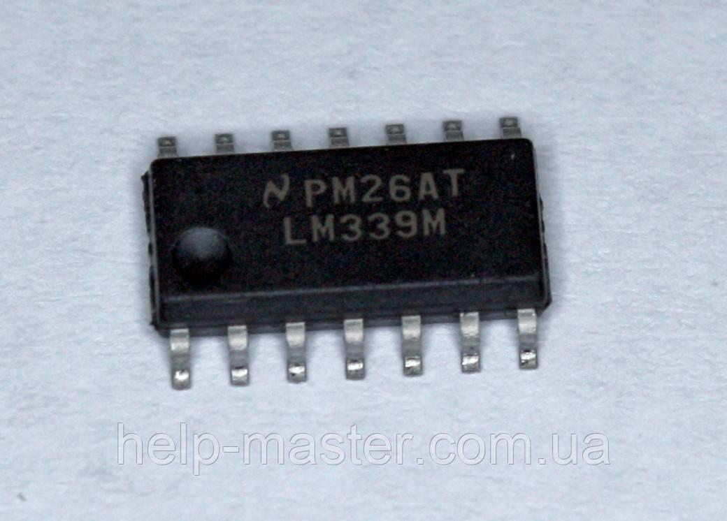 Мікросхема LM339M; (SOP14)