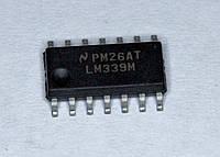 Микросхема LM339M;  (SOP14)