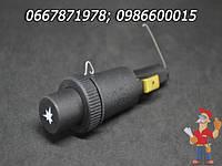 Кнопка пьезорозжига газового конвектора Фег, газовым колонкам и котлам  Junkers, Bosch