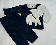 Велюровый костюм для малыша Турция