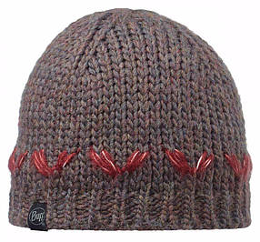 Шапка BUFF KNITTED HAT LILE brown