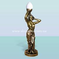 Интерьерный декоративный светильник скульптура Танцовщица. Напольный торшер для дома