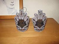 Перчатки митенки кружевные на выпускной, для вечеринки, свадебные.