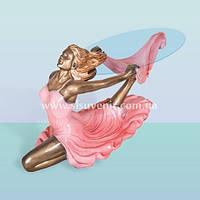 Журнальный стеклянный стол, кофейный столик со стеклом Танец