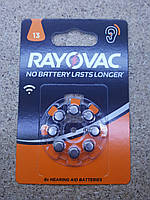 Батарейки VARTA Rayovac ZA 13