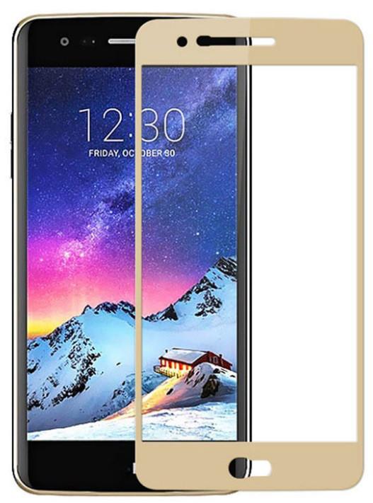 Защитное стекло Full для LG K7 X210DS цветное закаленное