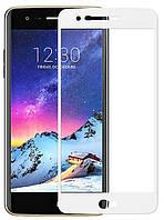 Защитное стекло для LG K4 2017 цветное Full Screen