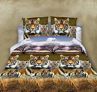 Полуторный набор постельного белья из Ранфорса №285