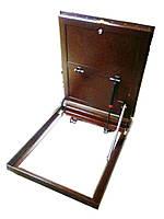 Напольный люк для погреба под плитку Корыто 800х1100 мм