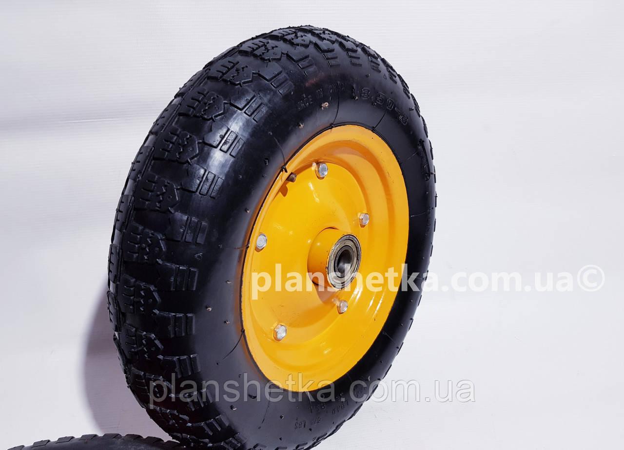 """Колесо для тачки 3.50-8 пневматическое 204 подшипник """"Tires-For"""""""