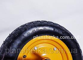 """Колесо для тачки 3.50-8 пневматическое 204 подшипник """"Tires-For"""", фото 2"""