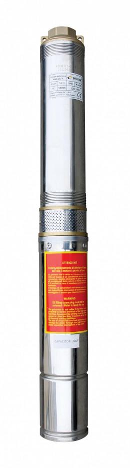 Насос скважинный с повышенной уст-тью к песку OPTIMA 4SDm3/14 1.1 кВт 102м + пульт, двиг. FRANKLIN