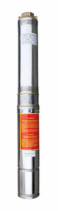 Насос скважинный с повышенной уст-тью к песку OPTIMA 4SDm3/14 1.1 кВт 102м + пульт, двиг. FRANKLIN, фото 2