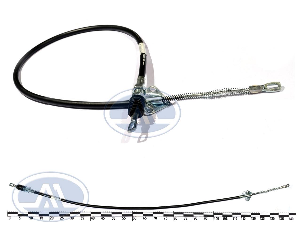 Трос ручного тормоза ГАЗ 2217 передний