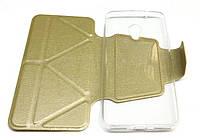 Чехол-книжка iMAX для IPhone 5/ 5s gold