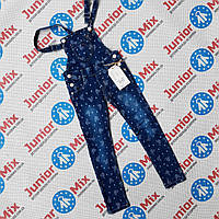 Детский джинсовый комбинезон для девочек оптом GRACE